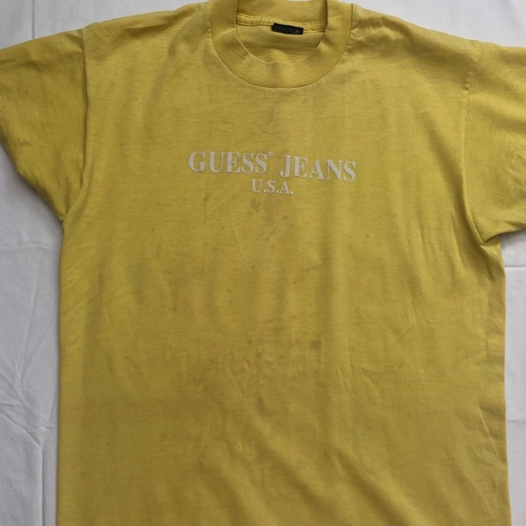 Guess Tops - Bootleg Guess Jeans tee